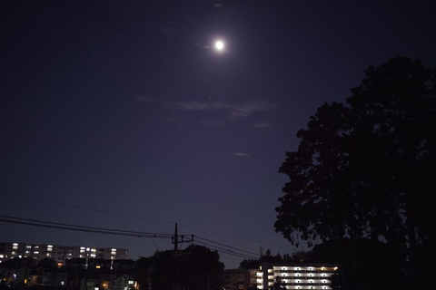 バクムーン(7月の満月)は見られず