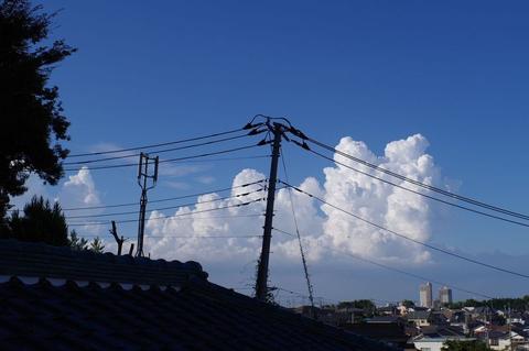 久しぶり幻日(げんじつ)とぺネタ型の雲