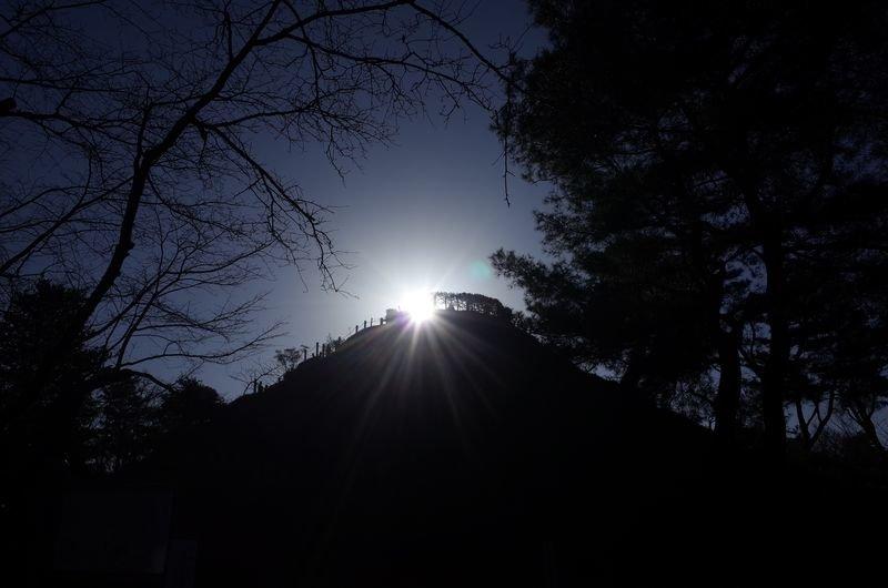 家から5分の富士山登山道