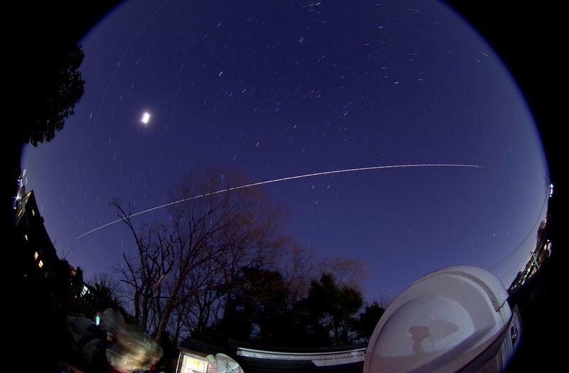 ISS(国際宇宙ステーション)のミニ観望会