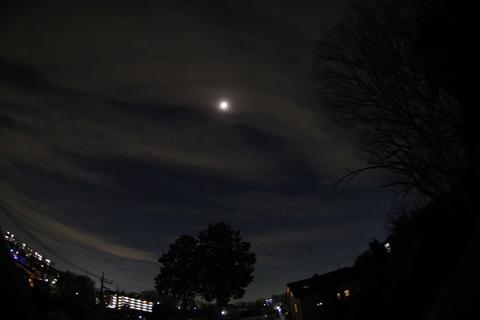 火星、天王星と月の接近