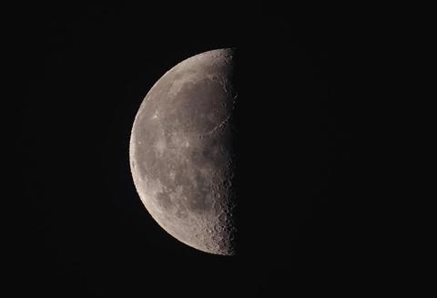 八十八夜、月・木星・土星