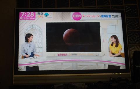 皆既月食(2021年)観察記