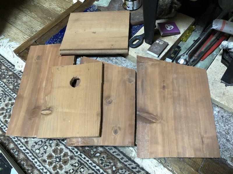 新しい巣箱