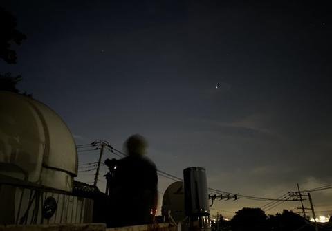 ISSとホシホウジャク